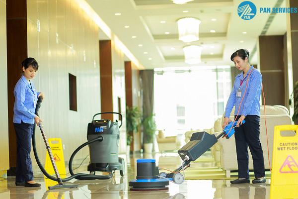 Pan Services Hà Nội luôn ứng dụng máy móc hiện đại trong công việc