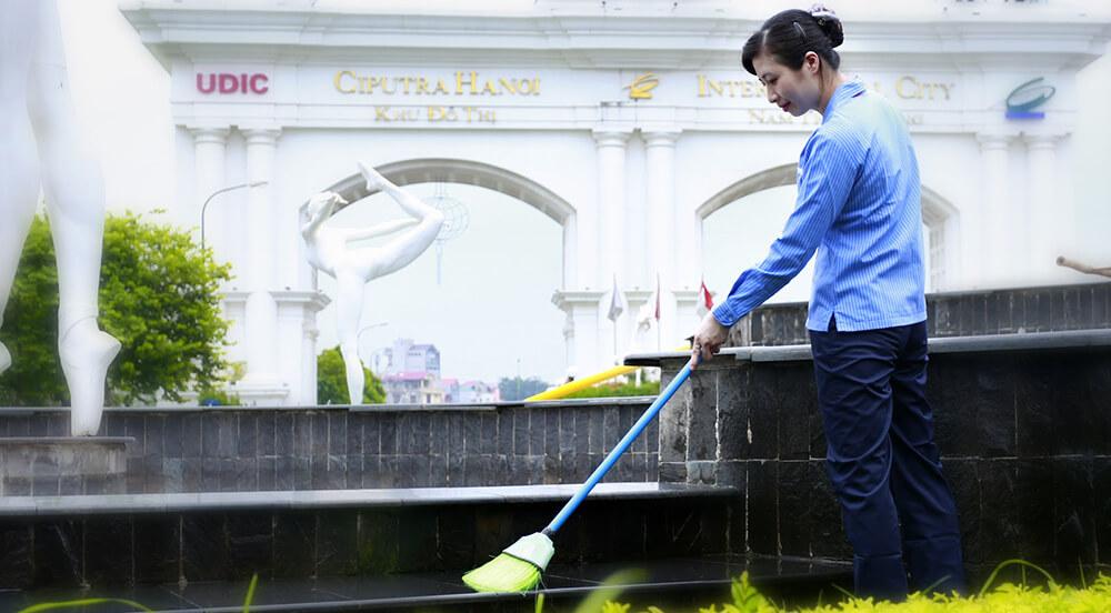 Dịch vụ vệ sinh khu đô thị