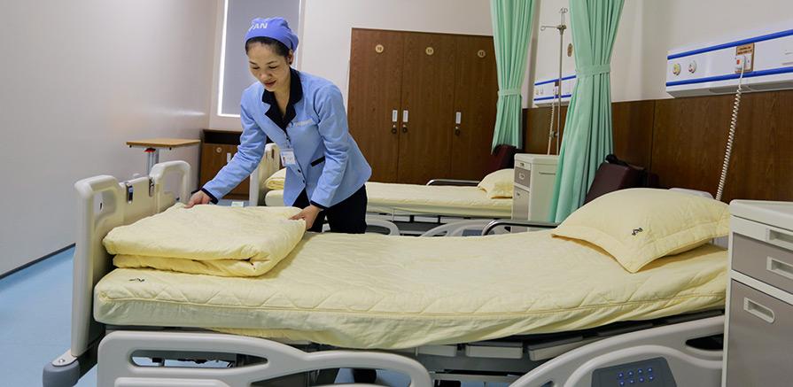 Vệ sinh thường xuyên bệnh viện
