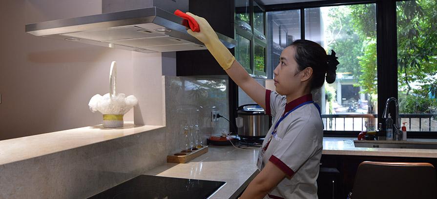 Tổng vệ sinh khách sạn, căn hộ dịch vụ