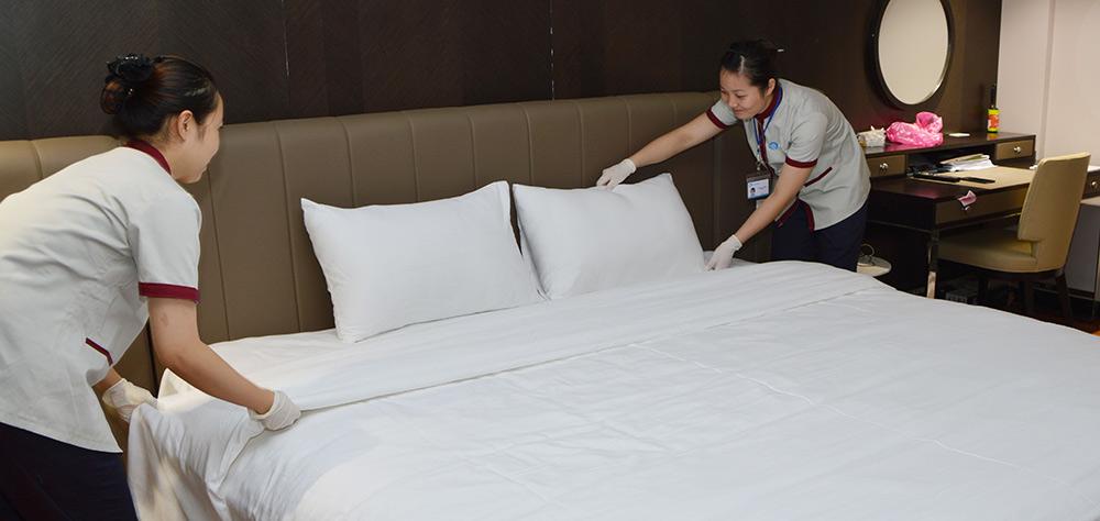 Dịch vụ vệ sinh khách sạn, căn hộ dịch vụ