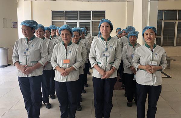 Đạo tạo nhân sự Pan Services Hà Nội tại bệnh viện 108