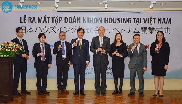 Nihon Housing- tập đoàn mẹ của Pan Services