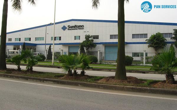 Nhà máy Sumitomo Heavy Industries Vietnam