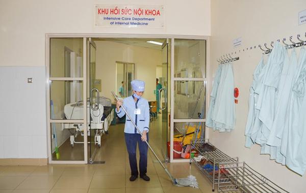 Vệ sinh bệnh viện 108
