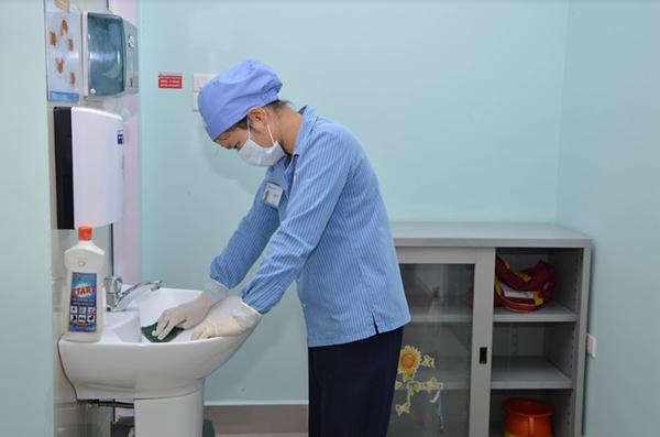Vệ sinh bệnh viện Nhi TW